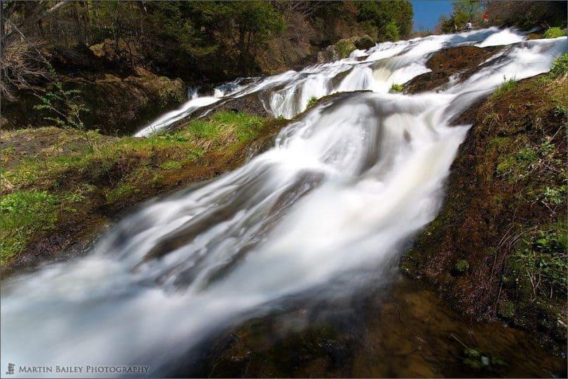 Rapids above Ryuuzu Falls