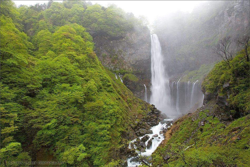 Kegon Falls in the Rain #1