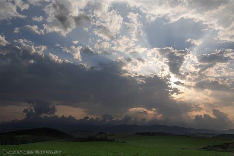 Sky over Biei
