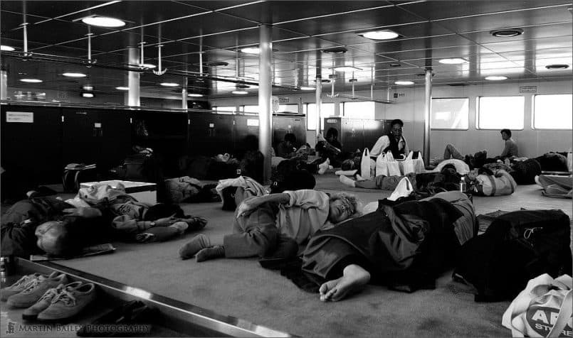 Evacuees or Ferry Passengers?