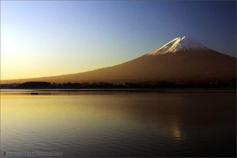 Mount Fuji & Rowing Boat