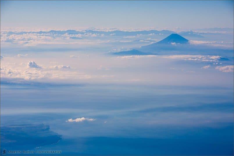 Fuji with Ohshima Island