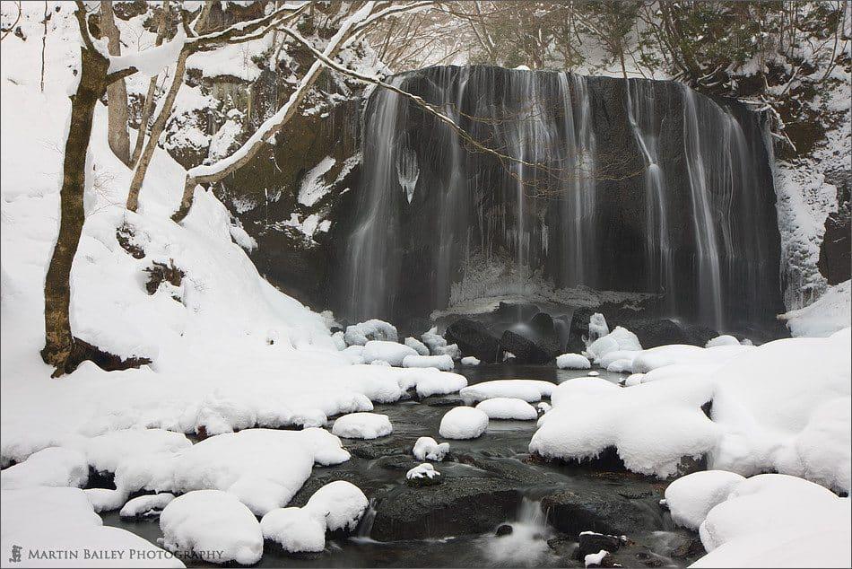 Winter Tatsusawa Falls #2