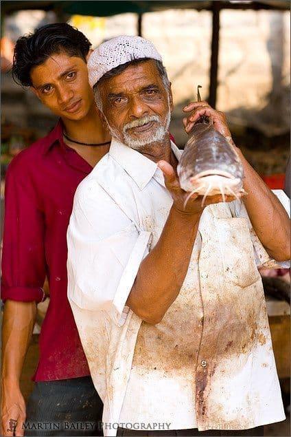Fish Mongers with Catfish