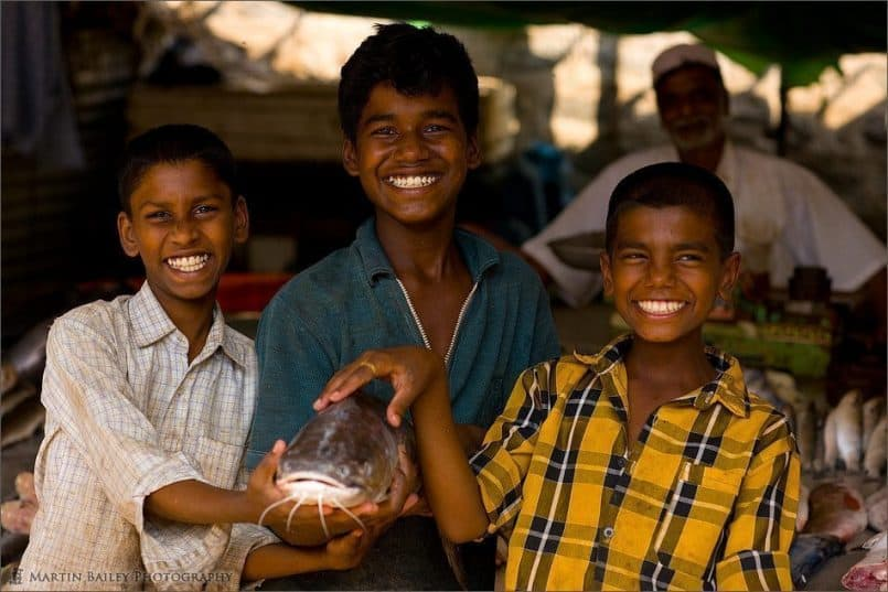 Three Wonderful Smiles