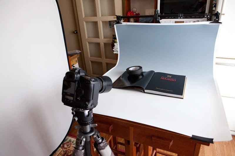 Ambient Light Product Shoot Studio