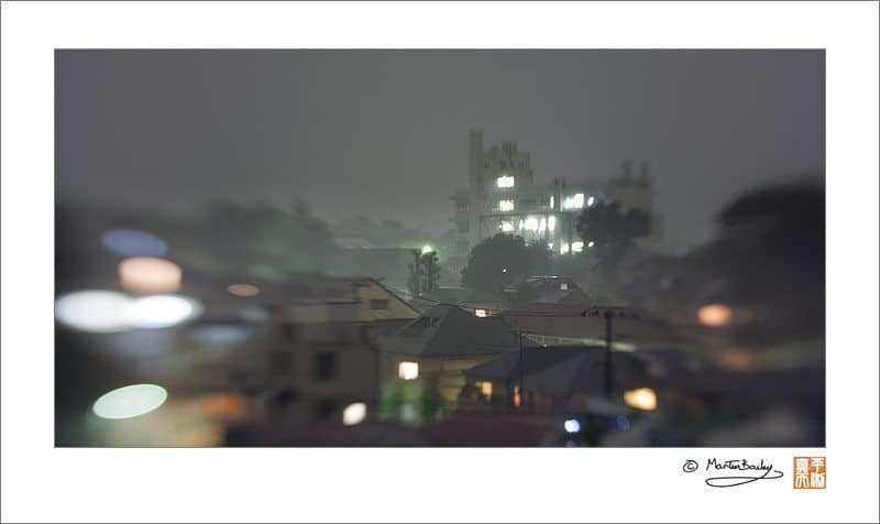 Tokyo Rainstorm with the Lensbaby Composer