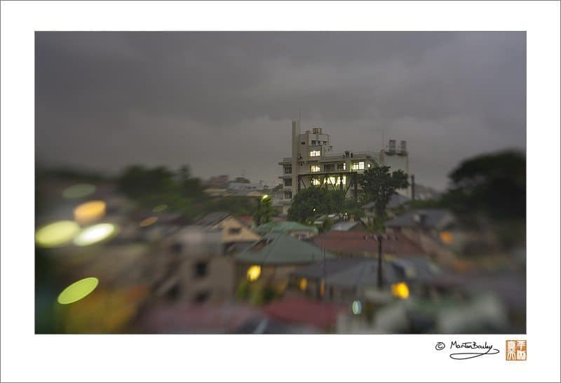 Tokyo Rainstorm with Lensbaby Composer @ F4.0