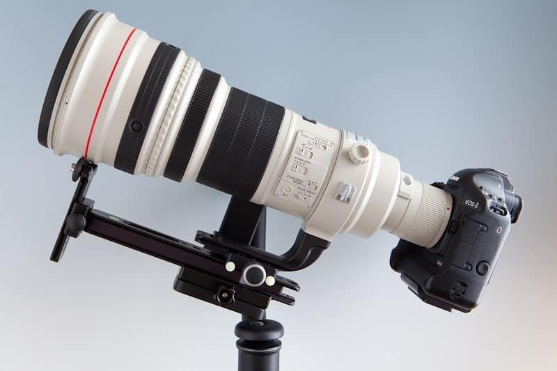 600mm F4 with Long Lens Support CP-YS-QR-Pkg