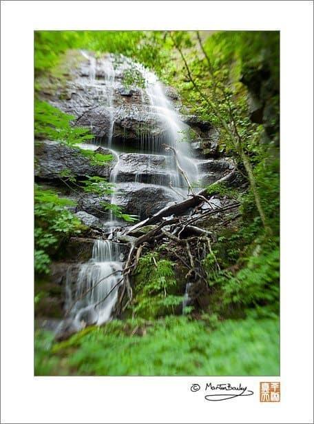 Kudan (Nine Steps) Falls (Lensbaby @ F11)