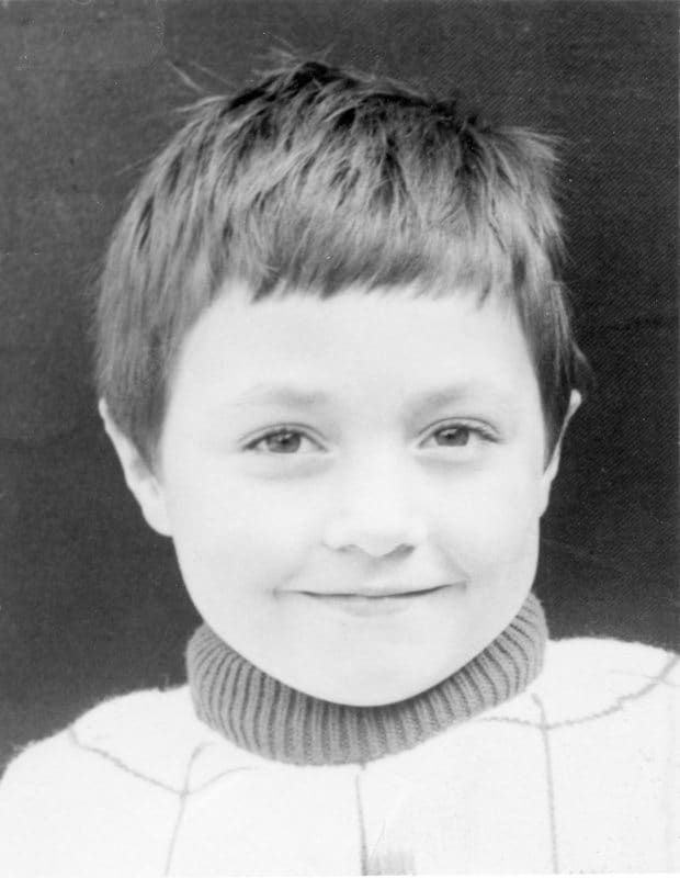 1st School Photo - Martin 5 years old (Nov 1st 1972)