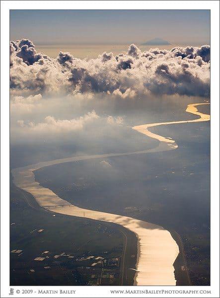 River & Mount Fuji
