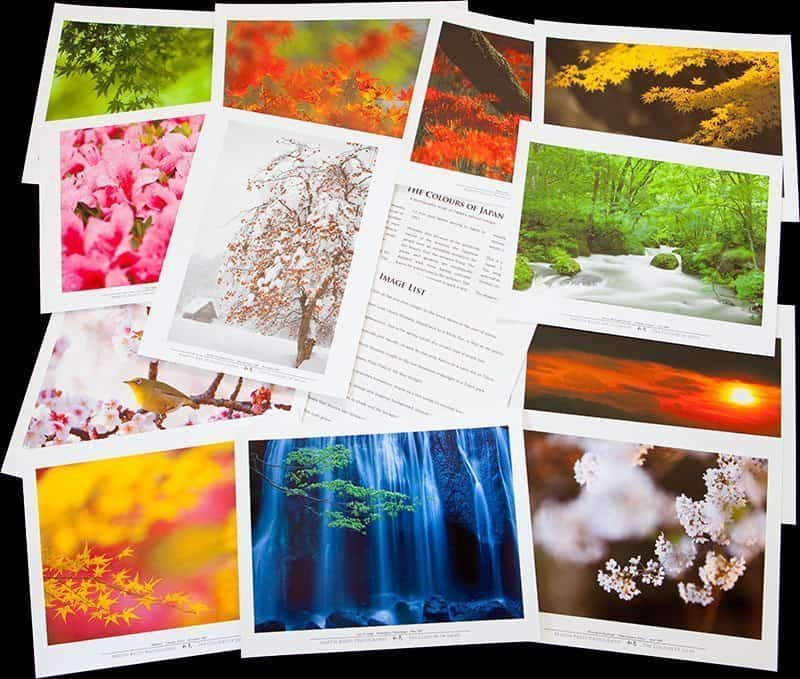 The Colours of Japan Folio Prints