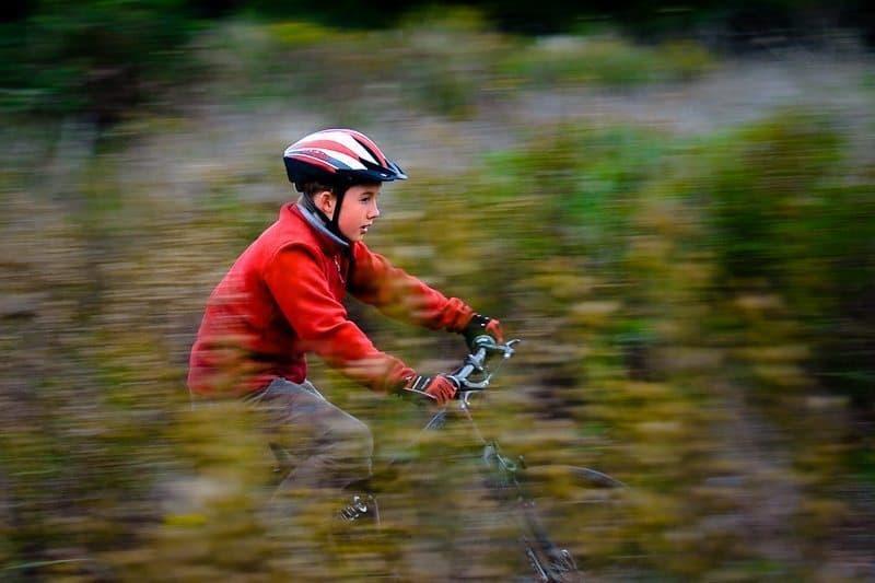 A Burn on the Bike (Copyright © Edwin Collingridge)