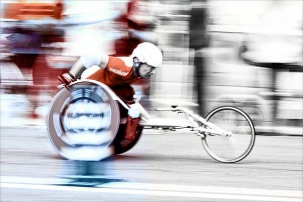 Racer (Copyright © Marcus Bain)