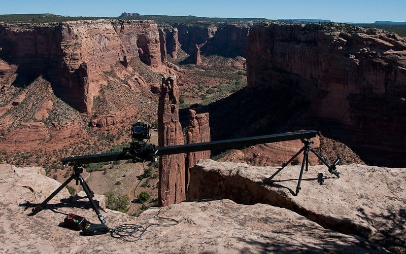 Dolly at Spider Rock (© Copyright Dan Newcomb)