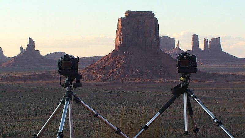 Time-lapse At Monument (© Copyright Dan Newcomb)