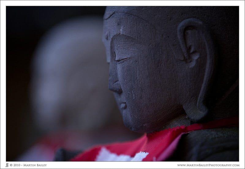 Daienji Temple Jizou @ F2.8 1/30 ISO 200