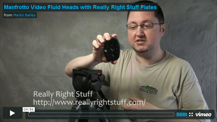 Manfrotto Heads with RRS Plates Video