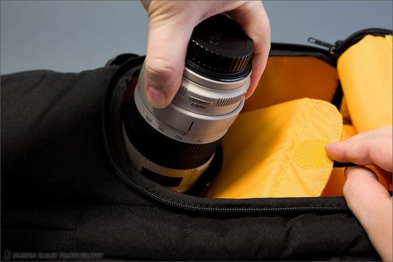 Kata-Bag 3N1-33 Side Pocket Lens Access