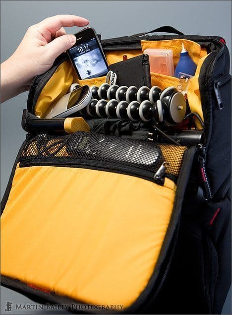Kata-Bag 3N1-33 Top Compartment