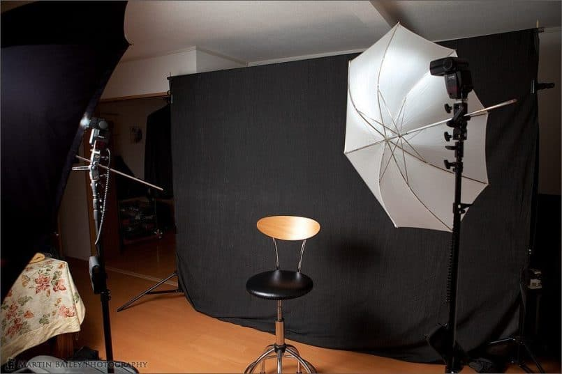 Portrait Shoot Setup