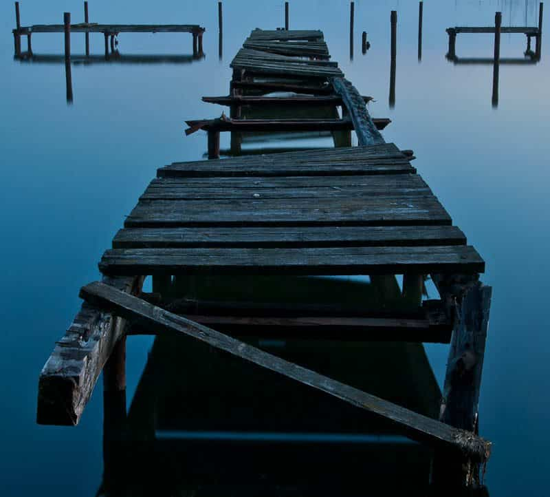 Symmetry Collapsed (© Chris Gell)