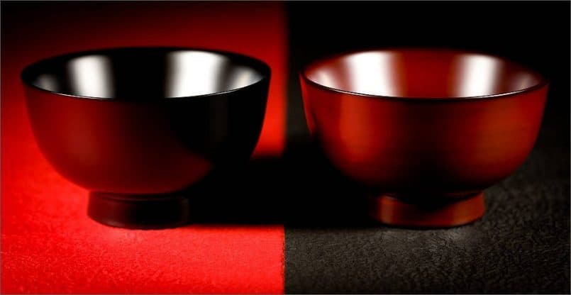 Japanese Lacquerware Bowls (© Martin Bailey)