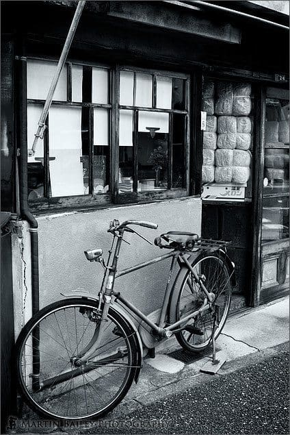 Old Bike, Old Shop