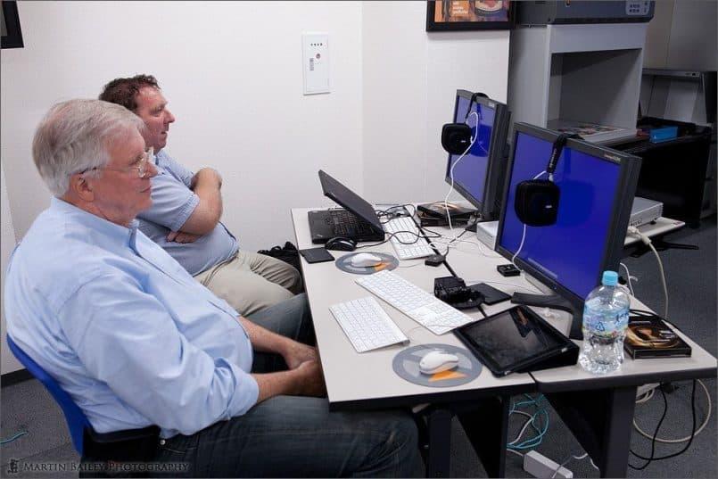 Syncronized Monitor Calibration