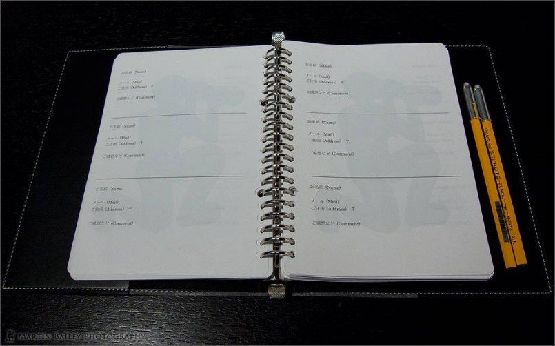 Guest Book with MBP Logo