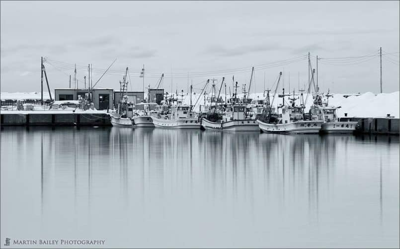 Boats in Haboro Port