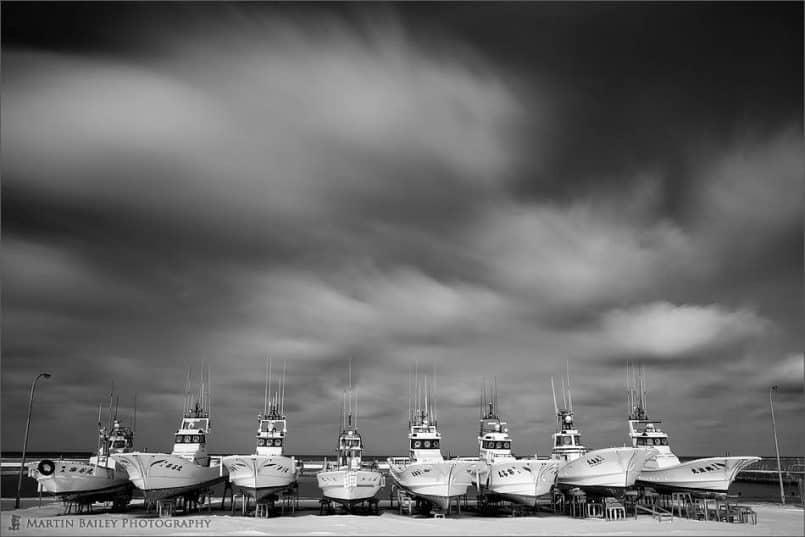 Souya Harbor Fishing Boats