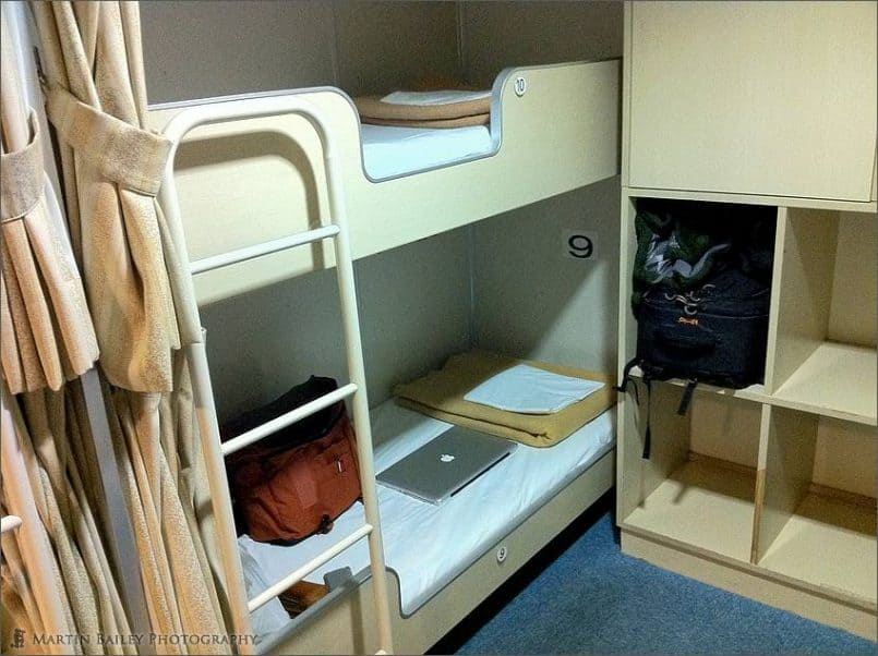 My Bunk on the Ferry