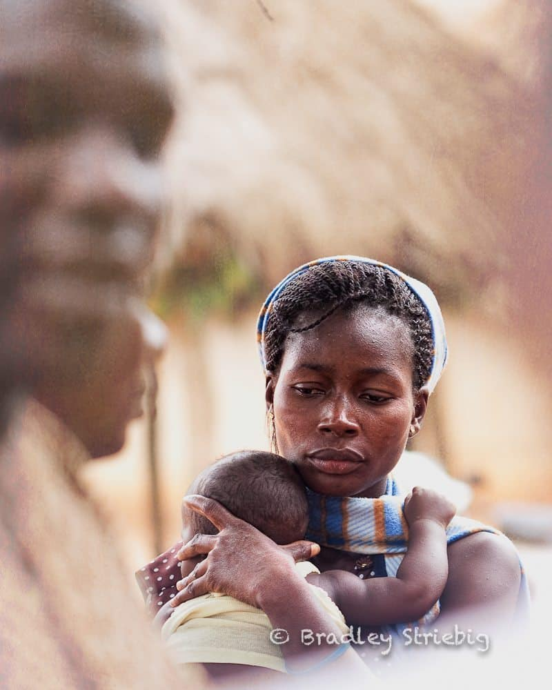 Mother and Child - © Brad Striebig