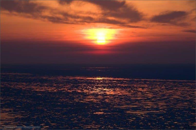 Puyuni Promontory Sunset