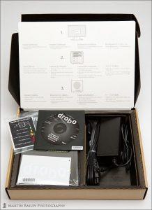 Drobo Box Contents