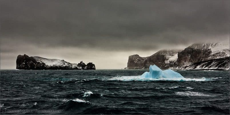Deception Island Iceberg - Color Efex Pro 4 Version