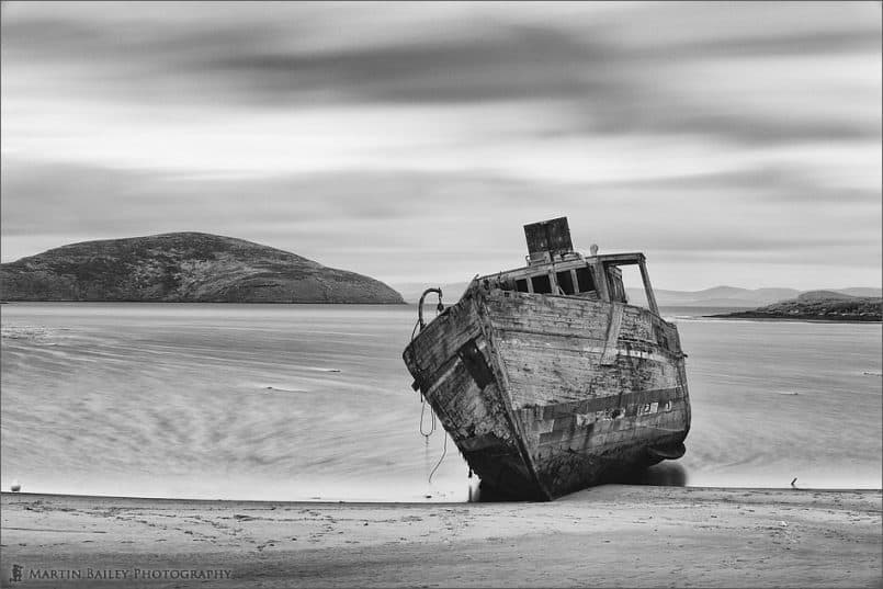 Wrecked Minesweeper - Silver Efex Pro 2 Version