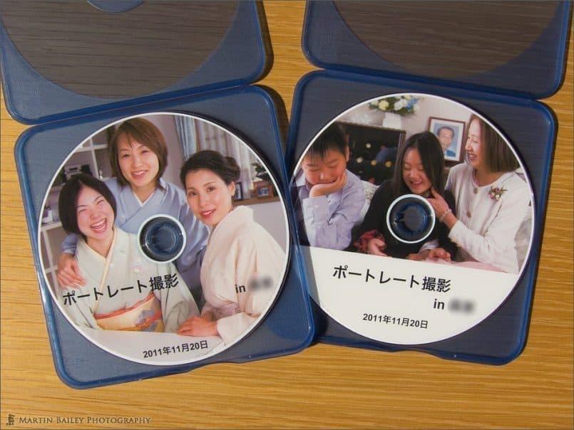 Client's DVDs