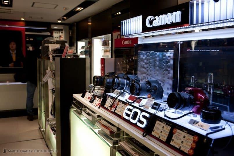 New Canon Cameras (4F)