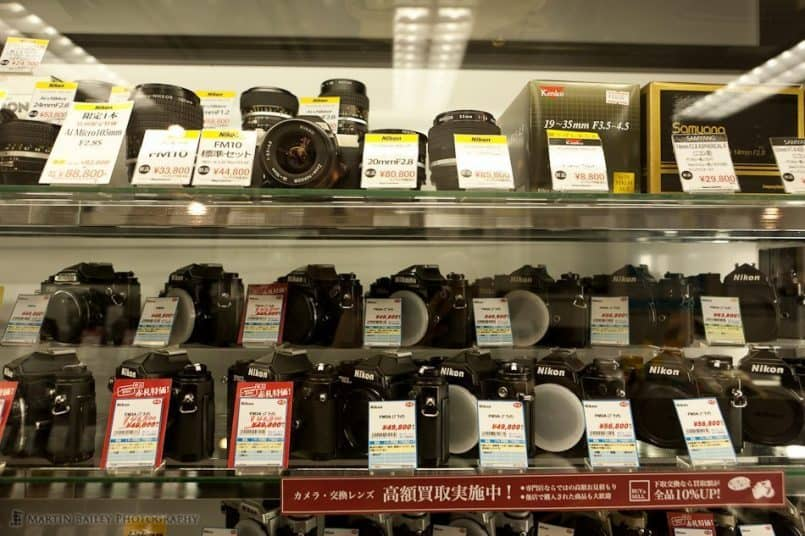 Nikon Film Cameras and Lenses (2F)