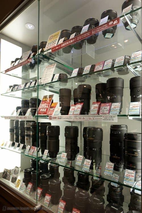Used Nikon Lenses (5F)
