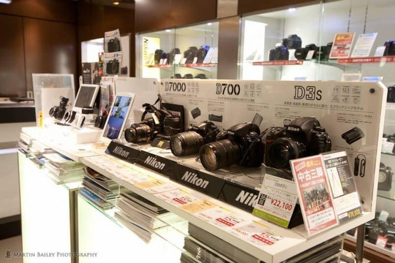 New Nikon Cameras (5F)