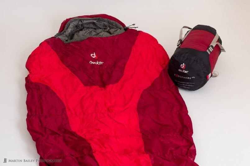 deuter Exosphere Thermo Stretch Comfort Sleeping Bag