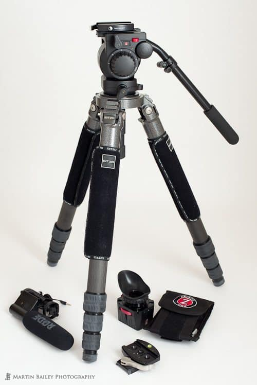 Gitzo 6X Tripod with Manfrotto 519 Pro Video Fluid Head