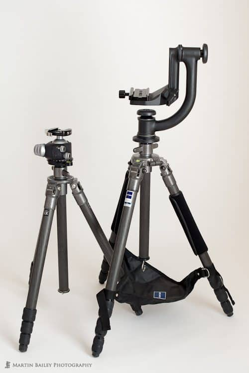 Gitzo Tripods with RSS and WImberley Heads