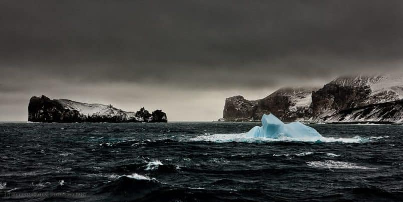 Deception Island Iceberg