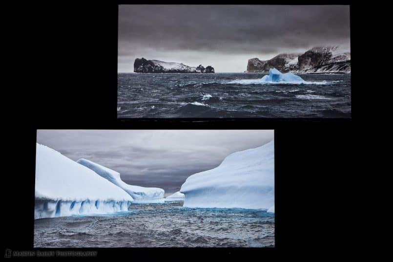 Two Iceberg Gallery Wraps