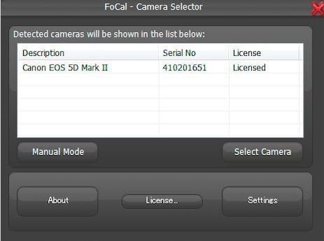 Camera Selector